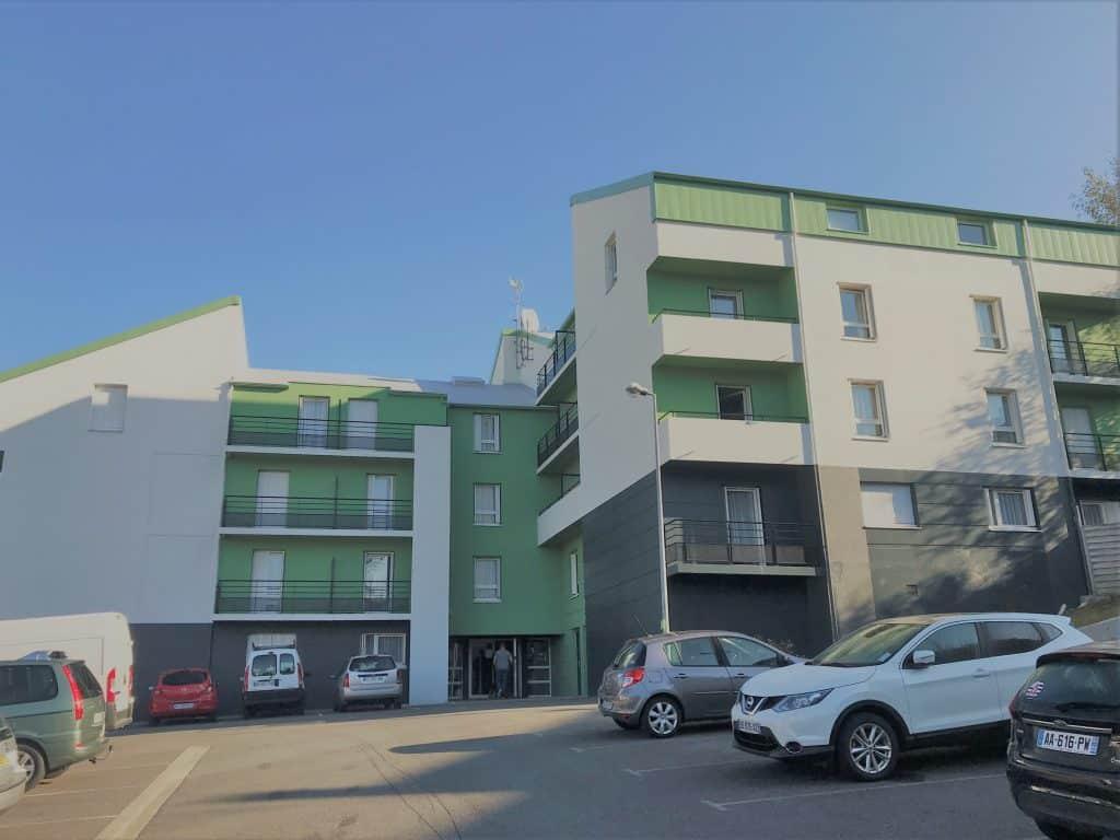 ext rieur appart hotel brest pasteur location pas cher. Black Bedroom Furniture Sets. Home Design Ideas